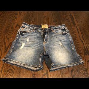 Dear John distressed jean shorts 26